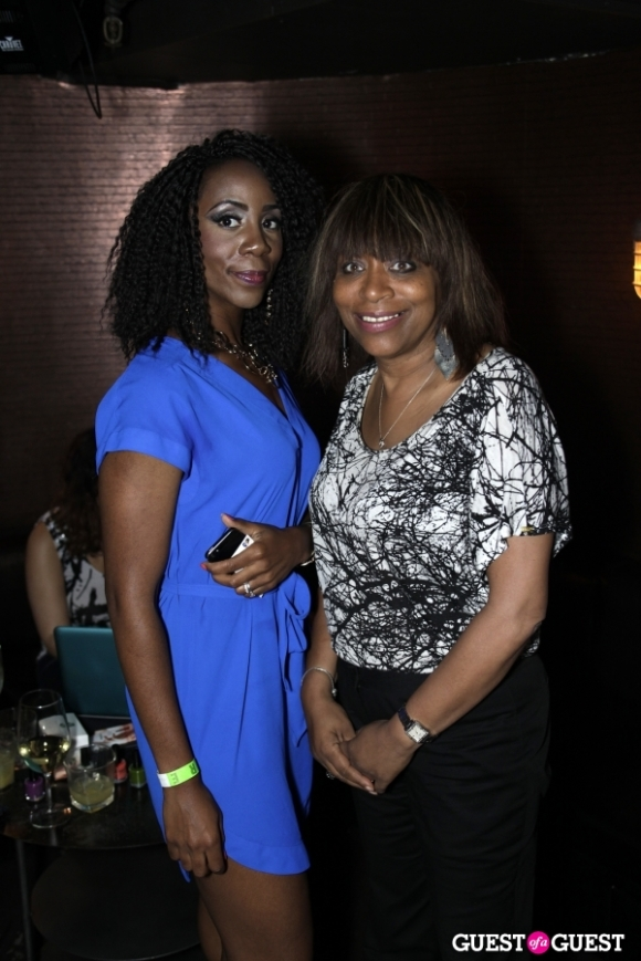 From Left: Ni'Kita Wilson and Tanya Phillips of the Greater NY Chamber of Commerce