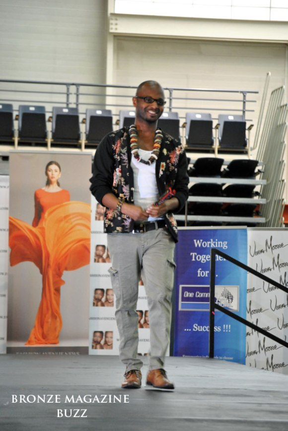 Fashion Designer Clarence Black
