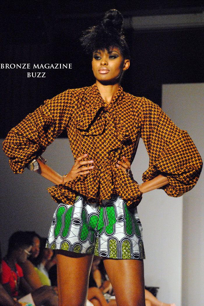 "African Fashion Week Nc: Bronze Magazine ""BUZZ"""